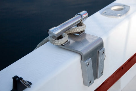 V-Lock is strong enough to use with a cleat to secure items