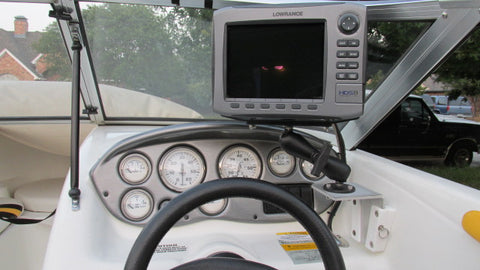 Lowrance Sidescan using V-Lock