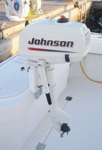 Store and secure your outboard motor