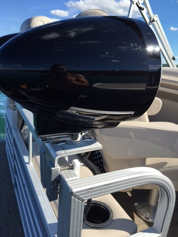 Secure boat speaker installation