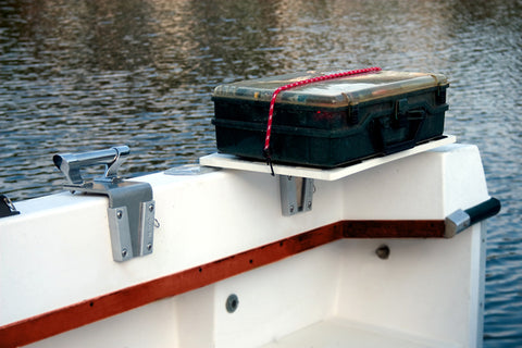 V-Lock securing a tackle box