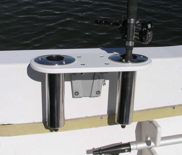 Double Stainless Rod Holder