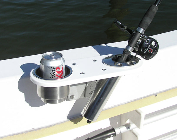 Boat Rod and Cup Holder