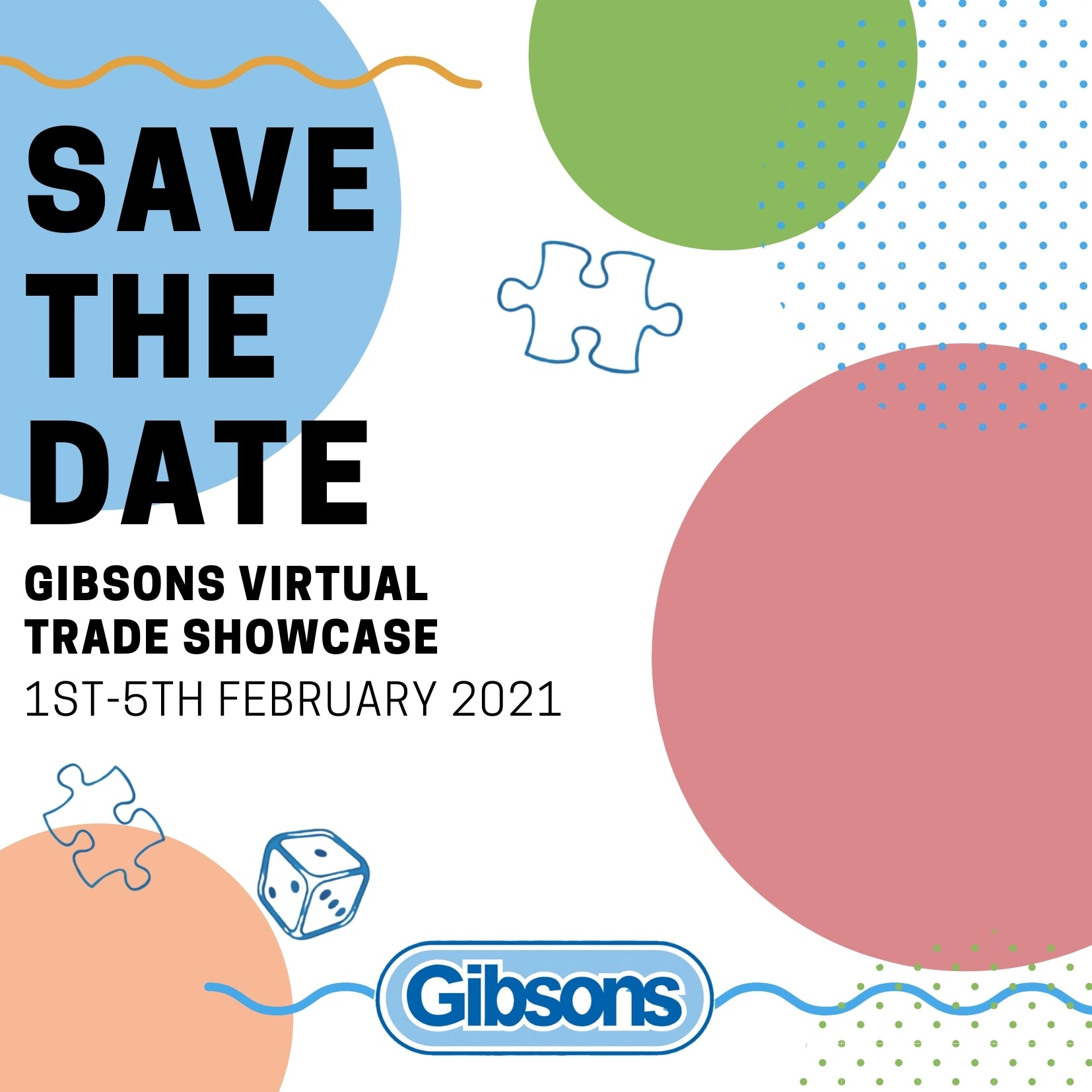 Booking for the Gibsons Virtual Trade Showcase is now open.
