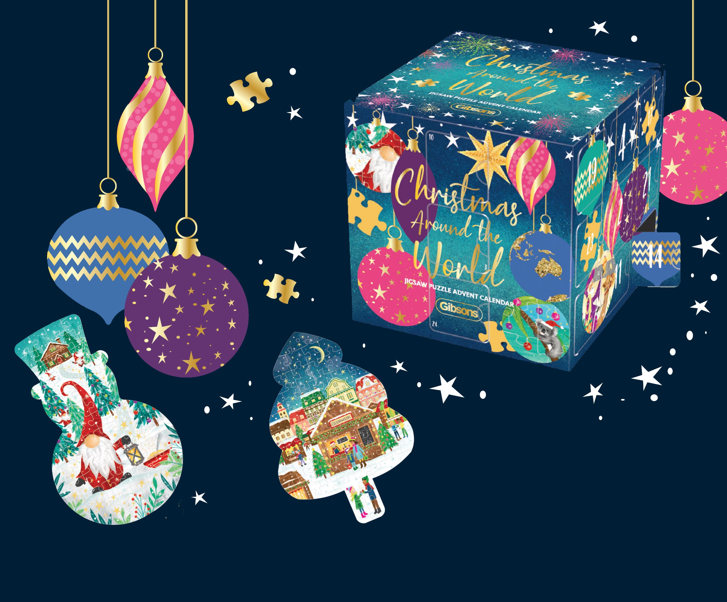 Introducing our ultimate jigsaw puzzle advent calendar