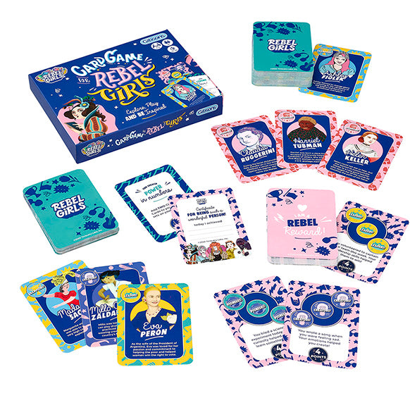 Introducing The Card Game For Rebel Girls