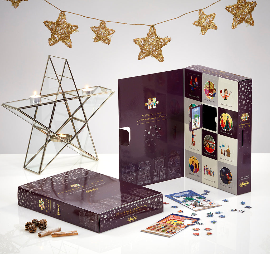 Christmas Is Coming Jigsaw Puzzle Calendar - Puzzle Images