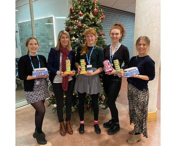 Gibsons donate over £10k of puzzles this Christmas