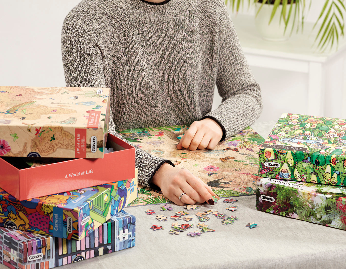 how big is a 1000 piece puzzle