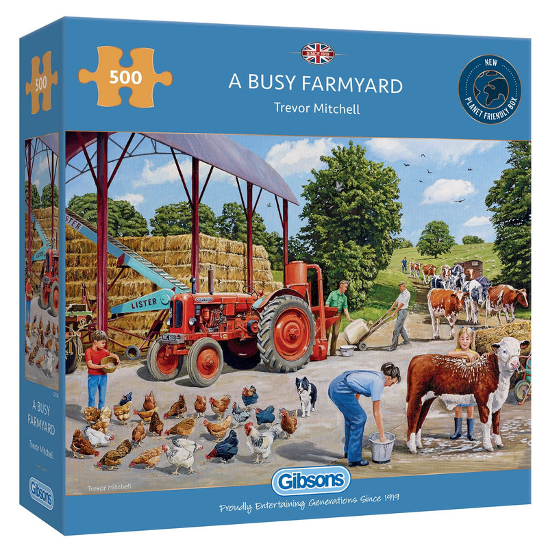 A Busy Farmyard