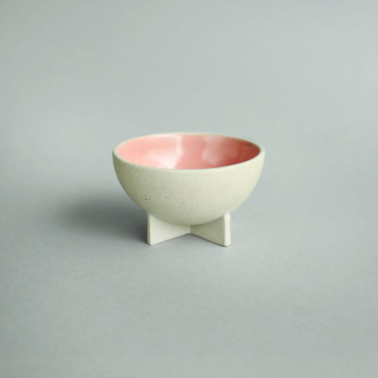 The Ware Innovations Bowl Pink / 110x110x62mm Fullstop