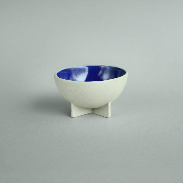 The Ware Innovations Bowl Deep Blue / 110x110x62mm Fullstop
