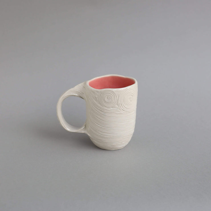 The Ware Innovations Mug Pink Tangled Mug