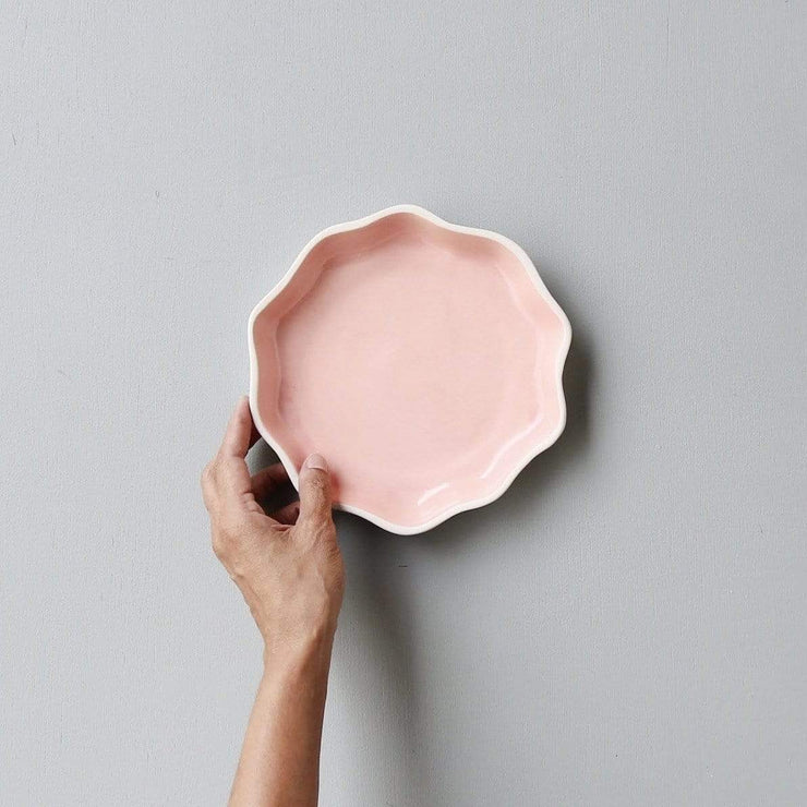 The Ware Innovations Plate Pink Tara Plate Big