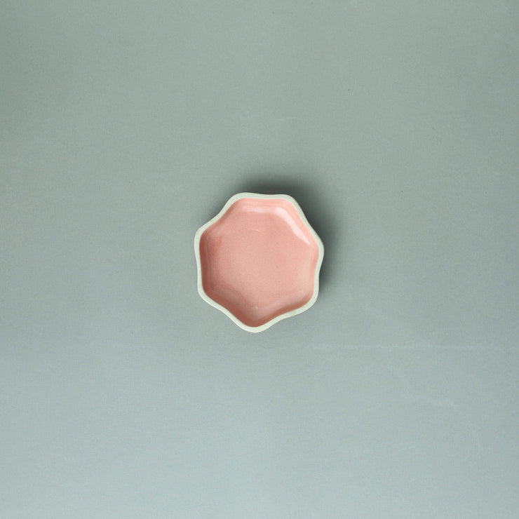 The Ware Innovations Plate Pink / 122x122x24mm Tara Plate Small