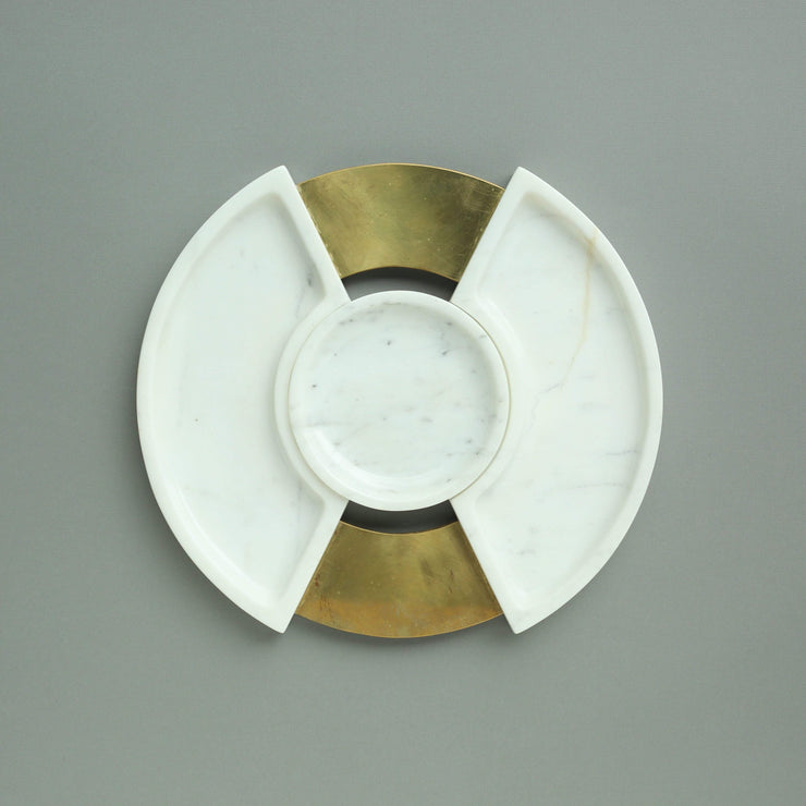 The Ware Innovations Platter White / 331x21mm Revolve