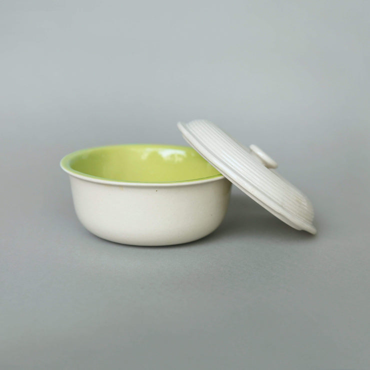 The Ware Innovations Set Limegreen-Nude Orbi Bowl-Lid