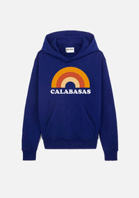 "sweat à capuche bleu marine ""CALABASAS"" - NO/ONE Paris"