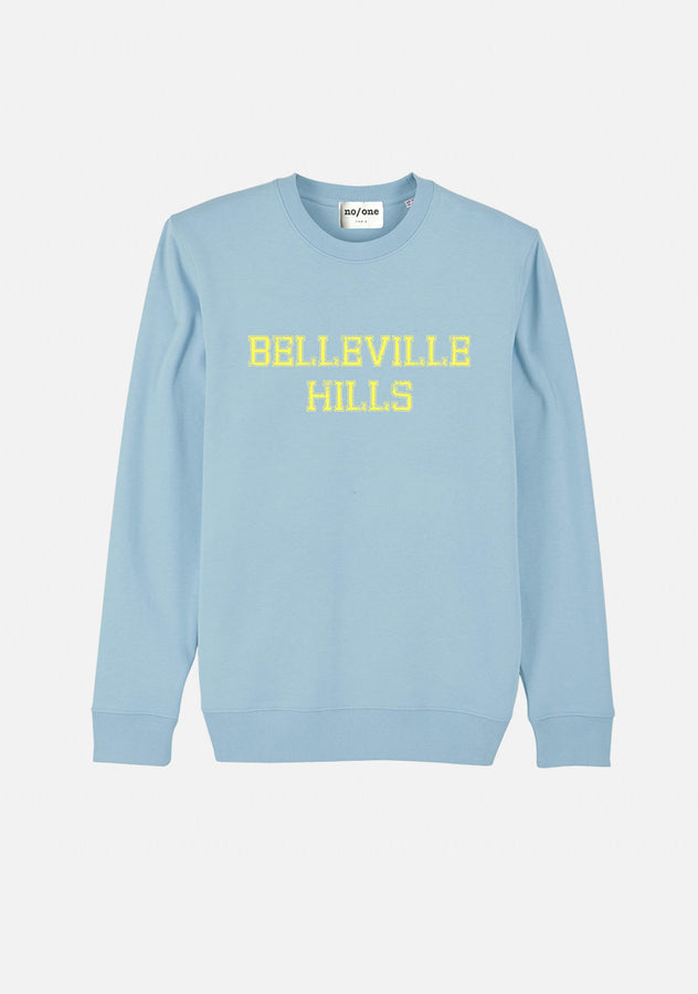 "SWEAT ""BELLEVILLE HILLS"" TYPO - NO/ONE Paris"