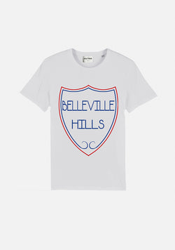 "T-SHIRT ""BELLEVILLE HILLS BLASON"" - NO/ONE Paris"