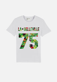 "TSHIRT ""LA PLUS BELLEVILLE 75"" - NO/ONE Paris"