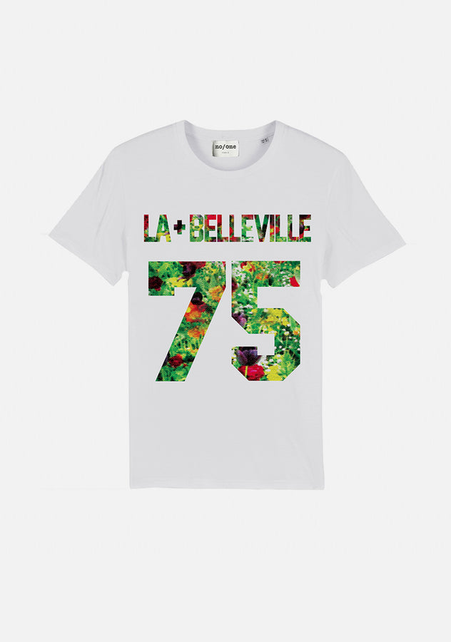 "TSHIRT ""LA PLUS BELLEVILLE 75"""