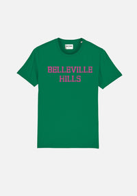 "T-SHIRT ""BELLEVILLE HILLS"" TYPO - NO/ONE Paris"