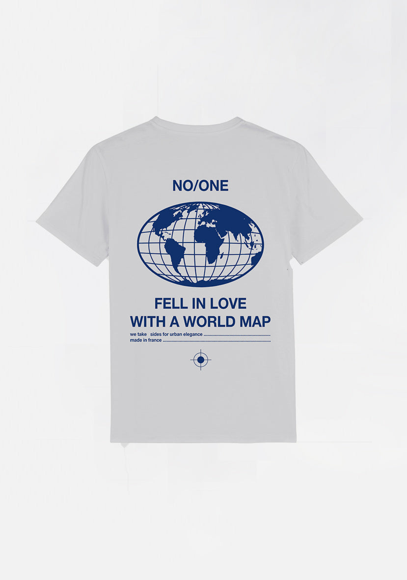 "T-SHIRT ""WORLD MAP"" - NO/ONE Paris"