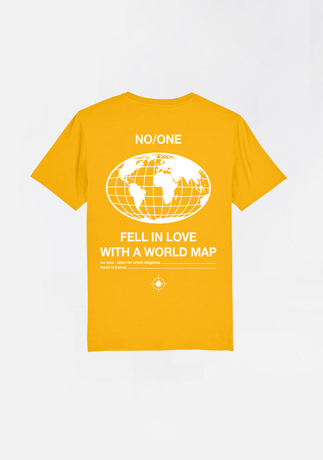 "T-SHIRT ""WORLD MAP"""