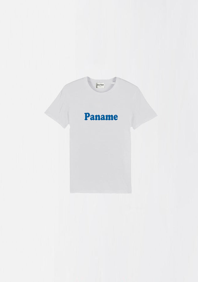 "MINI T-SHIRT ORGANIC COTON ""PANAME"" - NO/ONE Paris"