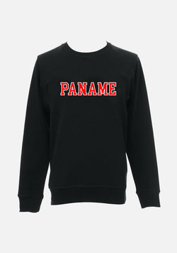 "SWEATSHIRT ""PANAME"" style collège - NO/ONE Paris"