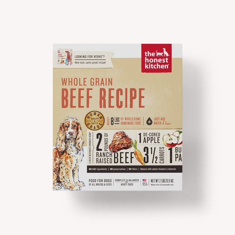 Dehydrated Beef Formula Dog Food (Verve)