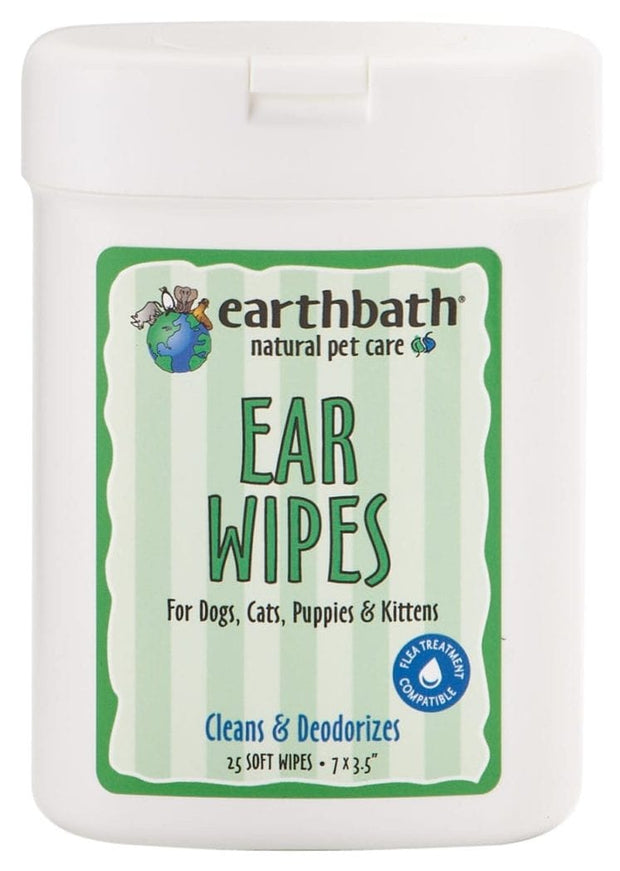 Ear Wipes - Cleans and Deodorizes