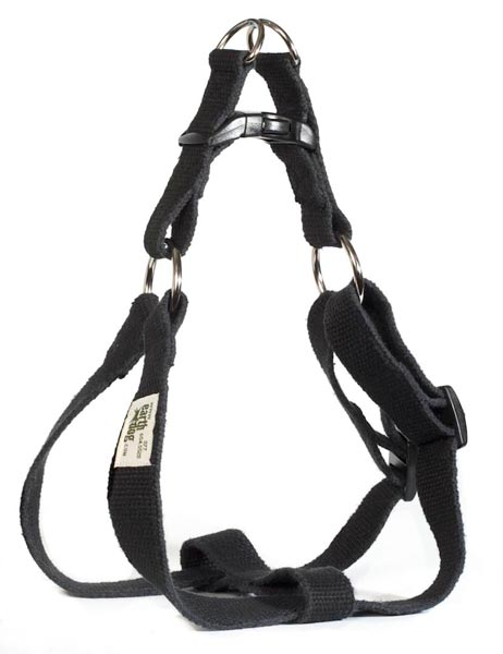 Solid Hemp Step-in Harness by Earthdog