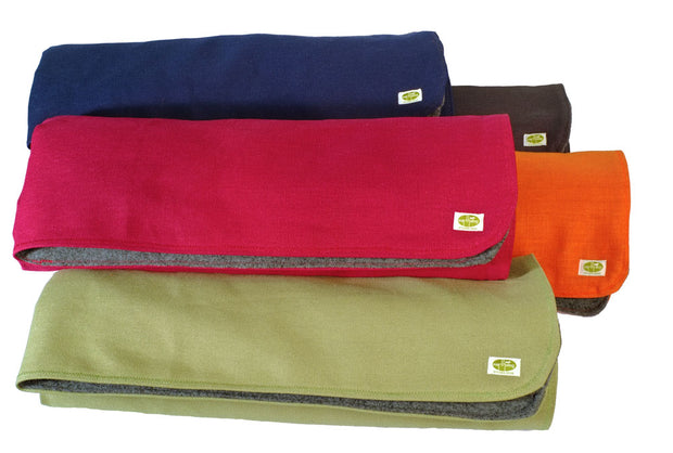 Hemp & Recycled Fleece Blanket by Earthdog