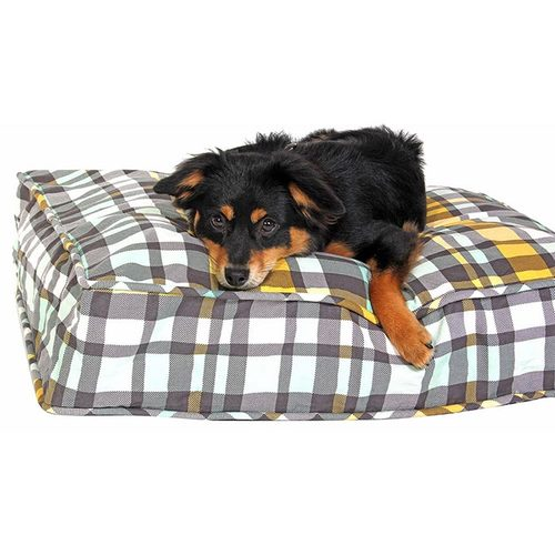 Northwestern Girls Dog Bed Duvet by Molly Mutt