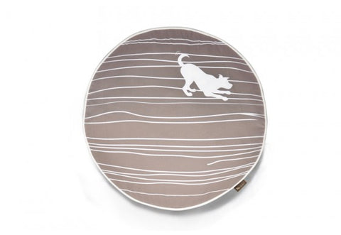 Dog on a Wire Round Dog Bed by P.L.A.Y.