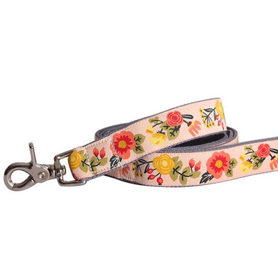 Alice in Wonderland Bamboo Dog Lead by Molly Mutt