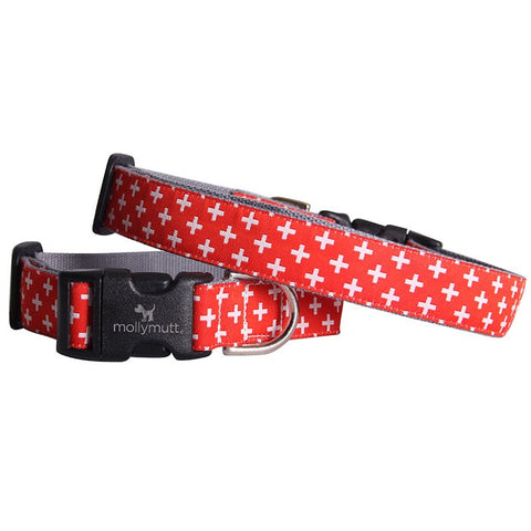 Great Expectations Bamboo Dog Collar by Molly Mutt