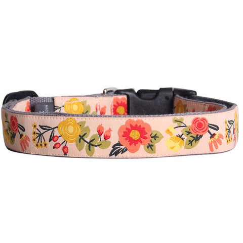 Alice in Wonderland Bamboo Dog Collar