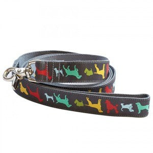 Hound of the Baskervilles Bamboo Dog Lead by Molly Mutt