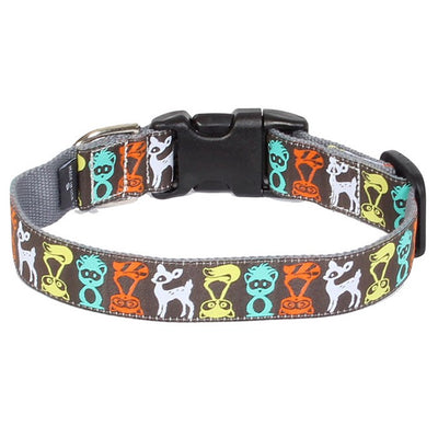 Moly Mutt Call of the Wild Bamboo Dog Collar