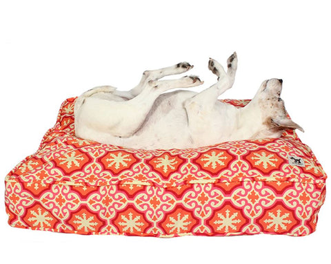 Petite Wool-Filled Dog Beds by Molly Mutt