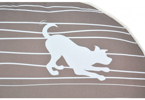 Dog on a Wire Round Dog Bed - Cover Only by P.L.A.Y.