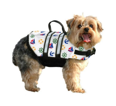 Nauti-Dog Life Jacket by Paws Aboard