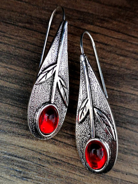 Alloy Vintage Leaf Earrings