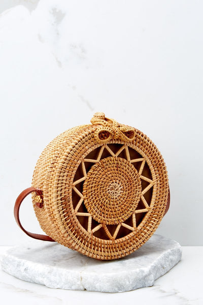 Vintage Braided Crossbody Bag