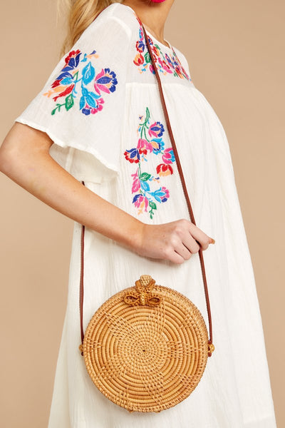 Vintage vacation casual crossbody bag