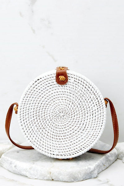 Vintage vacation casual straw Bag Delight