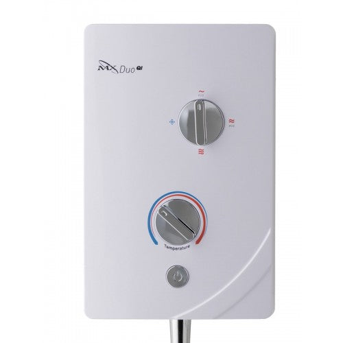 MX Duo QI White & Chrome GCF 9.5kW